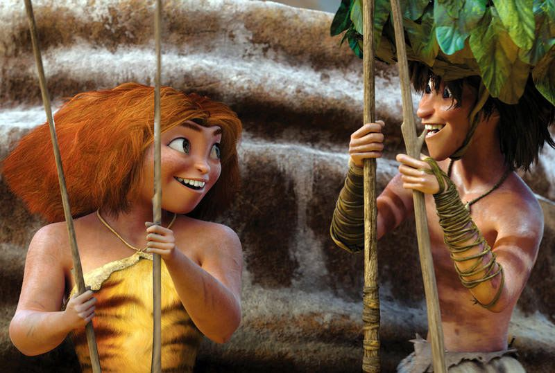Les Croods (Crédit photo : DreamWorks Animation LLC)