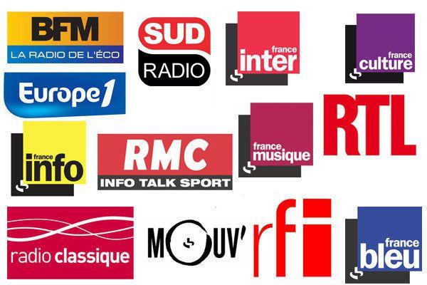 La liste des invités radio du lundi 12 octobre 2015 (podcasts)