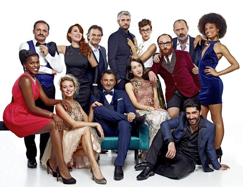 L'équipe de Folie Passagère (Crédit photo : Stéphane de Bourgies)