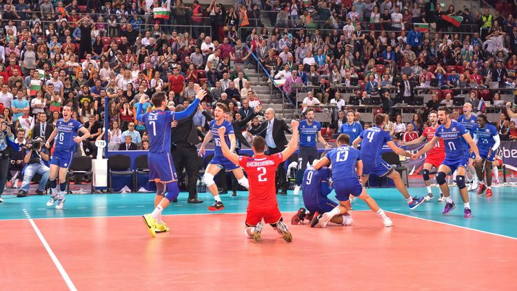 Euro 2015 de Volley - La finale France / Slovénie diffusée en direct sur France 4