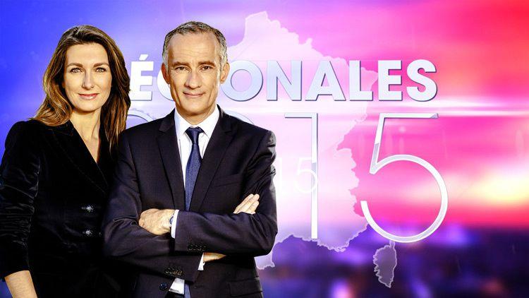 Anne-Claire Coudray et Gilles Bouleau aux commandes des soirées électorales des Régionales sur TF1