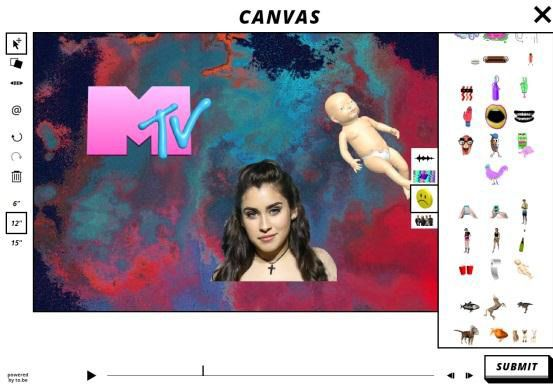 Avec Canvas, participez à l'habillage de MTV !
