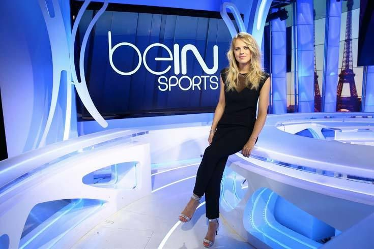 Claire Arnoux (Crédit photo : beIN SPORTS / DR)