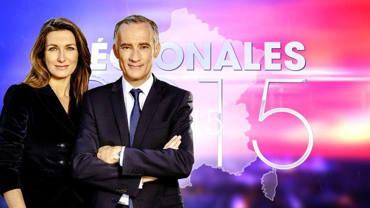 Anne-Claire Coudray et Gilles Bouleau (Crédit photo : TF1 / DR)