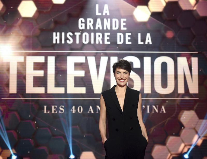 Alessandra Sublet (Crédit photo : Laurent Zabulon / TF1)