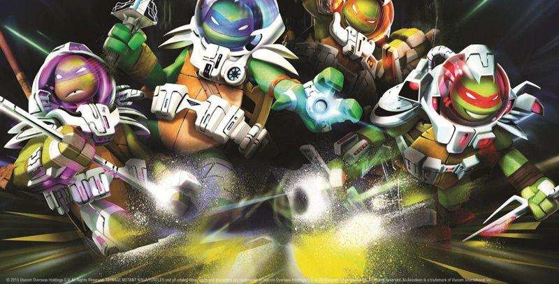 la série d'animation &quot&#x3B;Les Tortues Ninja&quot&#x3B; de retour avec une saison 4 en février sur nickelodeon