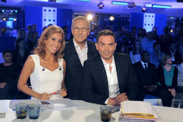 Léa Salamé, Laurent Ruquier et Yann Moix (Crédit photo : Bernard Barbereau / FTV)