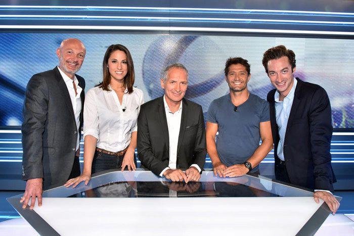L'équipe de Téléfoot (Crédit photo : Laurent Zabulon / TF1)