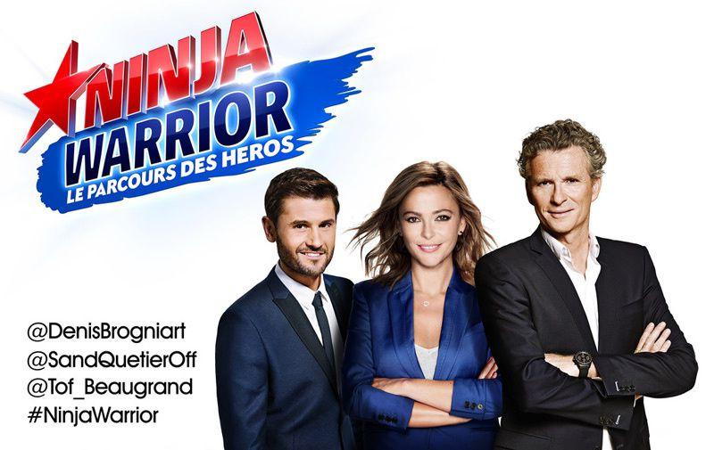 Denis Brogniart, Sandrine Quétier et Christophe Beaugrand seront aux commandes de &quot&#x3B;Ninja Warrior&quot&#x3B;
