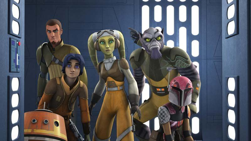 Star Wars Rebels (Crédit photo : TM Lucasfilm LTD)