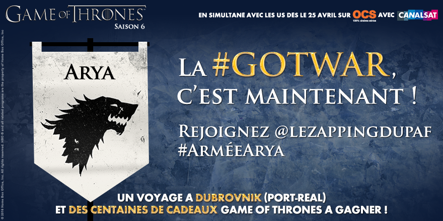 Avec la #GotWar, partez en Croatie sur les lieux de tournage de Game of Thrones