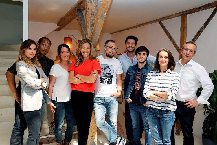 L'équipe de On n'est plus des pigrons (Crédit photo : Gilles Gustine / FTV)