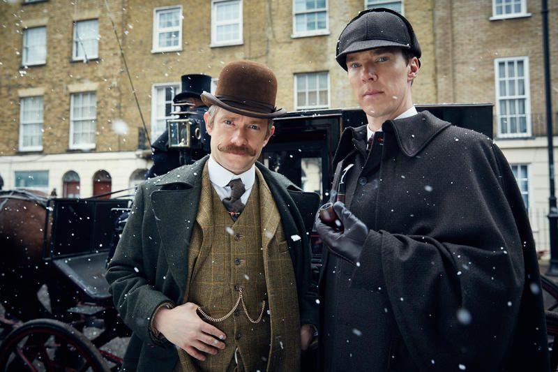 Un épisode inédit de la série Sherlock diffusé ce soir sur France 4