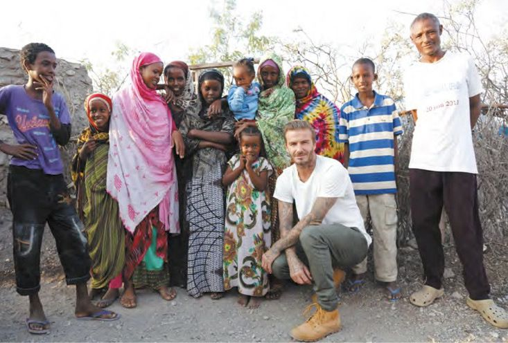 David Beckham, pour l'amour du jeu (Crédit photo : JACKIE NICKERSON)