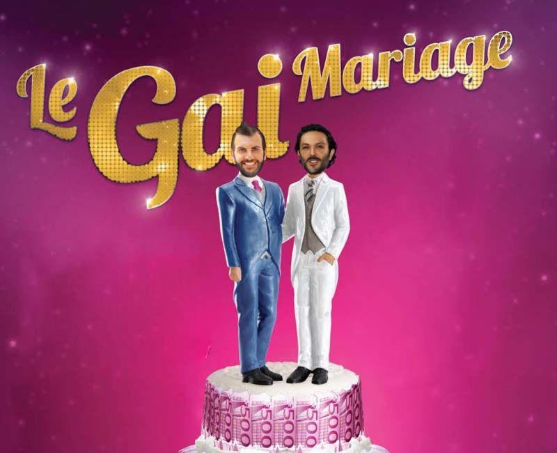 La pièce &quot&#x3B;Le gai mariage&quot&#x3B; avec Laurent Ournac et Olivier Sitruk diffusé ce soir sur TMC