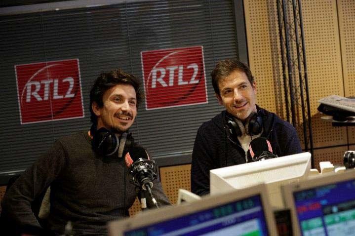 Arnaud Tsamère et Grégory Ascher