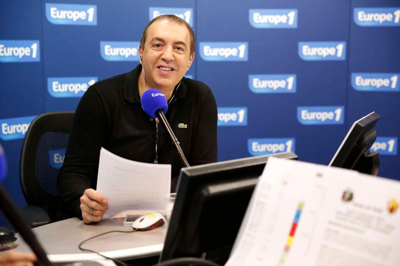 Jean-Marc Morandini (Crédit photo : Marie Etchegoyen - Capa Pictures - Europe 1)