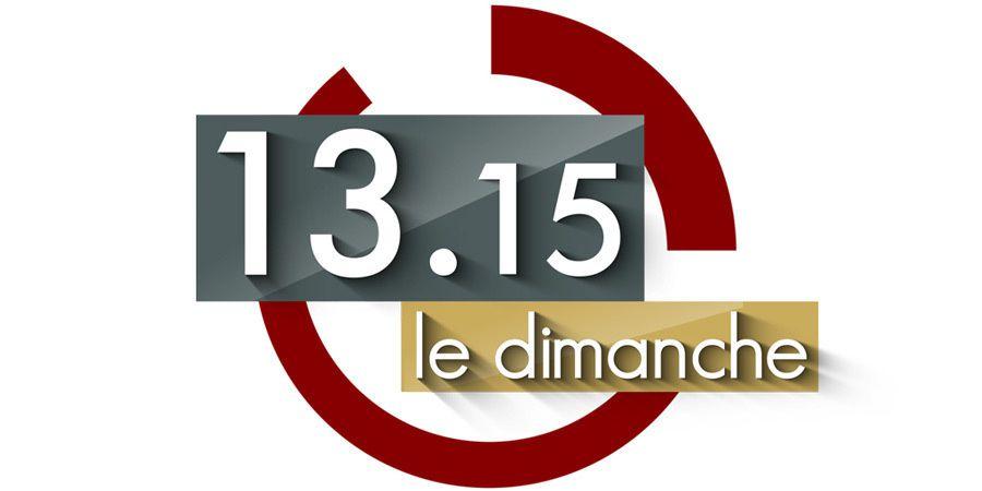 Najat Vallaud Belkacem, Patrick Poivre d'Arvor dans le Club de la presse dans &quot&#x3B;13h15 le dimanche&quot&#x3B; sur France 2