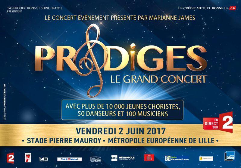 &quot&#x3B;Prodiges le grand concert&quot&#x3B; le 2 juin 2017 sur France 2