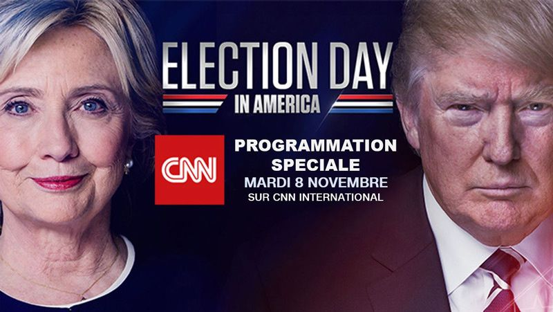 Elections US 2016 - Programmation spéciale sur CNN International