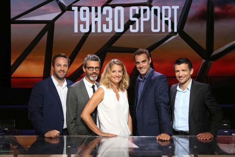 19H30 Sport (Crédit photo : Maxime Bruno / Canal+)