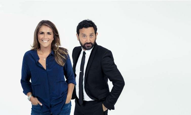 Valerie Benaïm et Cyril Hanouna (Crédit photo : C8 / Cyrille George Jerusalmi)
