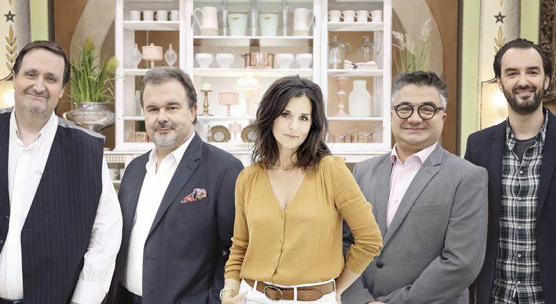Le meilleur pâtissier - Les professionnels (Crédit photo : Marie Etchegoyen / M6)