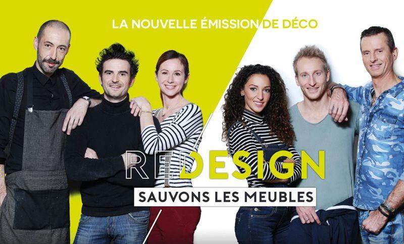 « Redesign : Sauvons les meubles ! » chez Catherine et Gilles sur M6