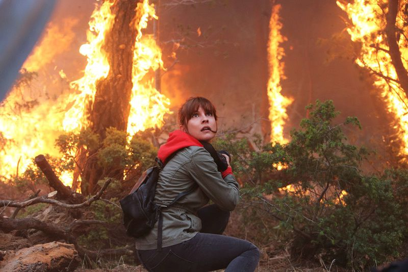 La promesse du feu (Crédit photo : ELOAPROD / FTV)