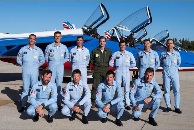 Xaviers de Moulins au sein de la Patrouille de France (Crédit photo : Olivier RAVENEL / Armée de l'Air / M6)
