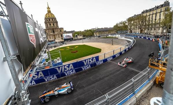 L'E-Prix de Paris (Crédit photo : Thierry Gromik / Canal+)