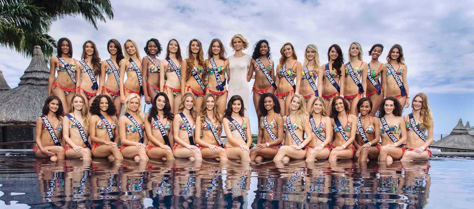 Les 30 candidates de Miss France 2018 iront cet automne à Los Angeles