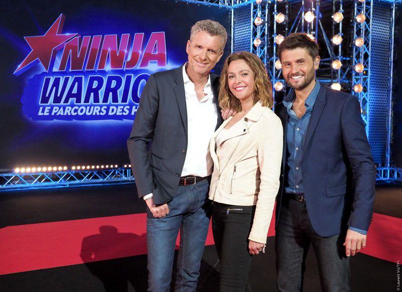 Denis Brogniart, Sanrine Quétier et Christophe Beaugrand (Crédit photo : Laurent Vu / TF1)