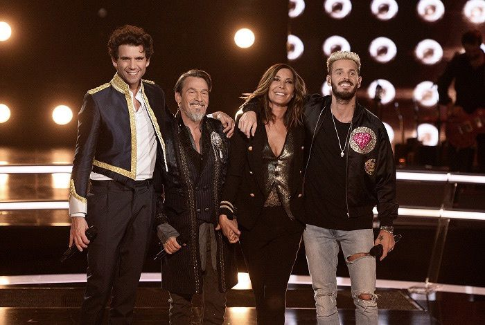 Le jury de la saison 6 de The Voice (Crédit photo : TF1 / DR)