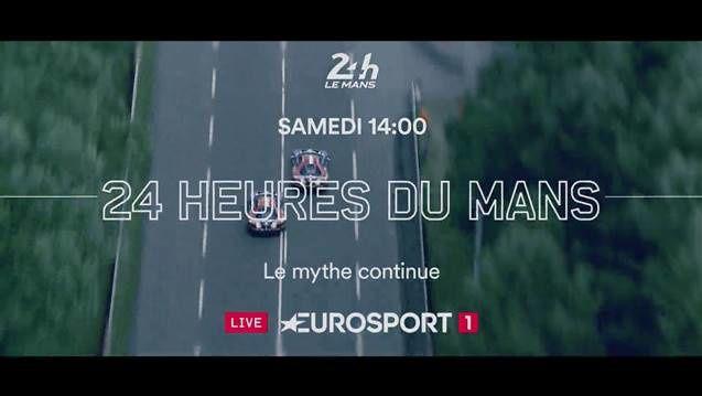 La course des 24H du Mans à suivre sur Eurosport