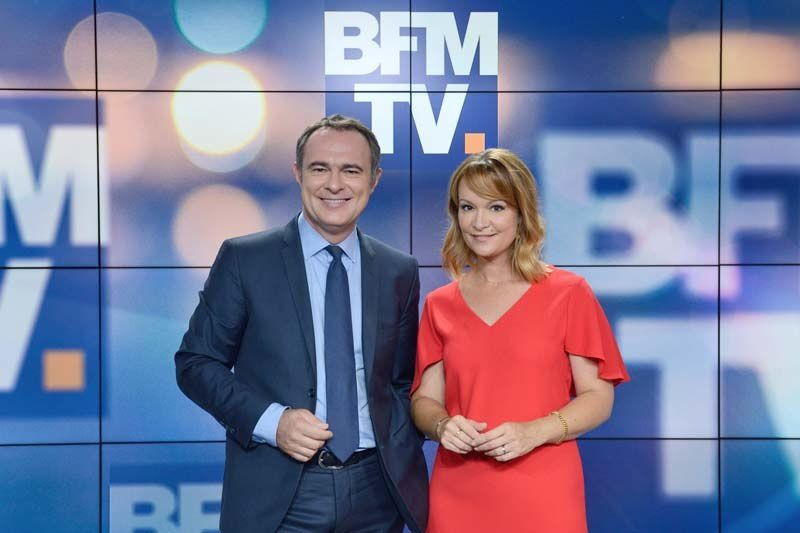 Christophe Delay et Adeline François (Crédit photo : A Marechal / ABACA PRESS pour BFMTV)