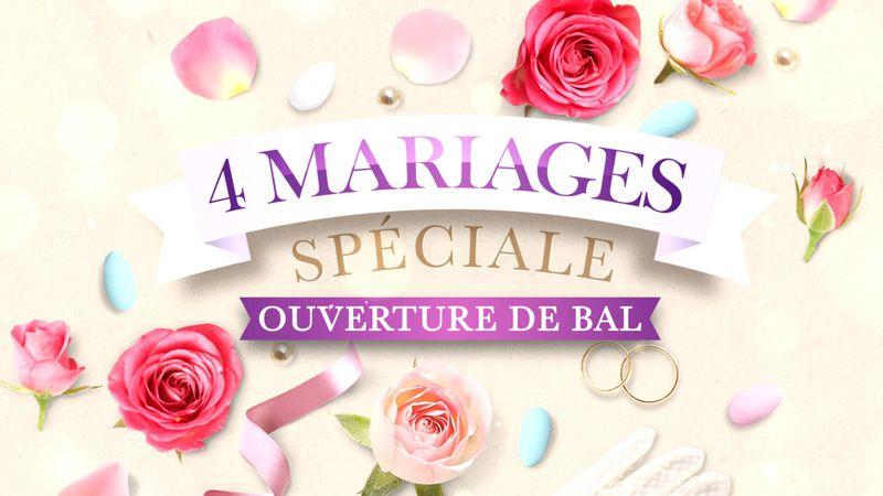 Semaine spéciale ouverture de bal avec des danseurs de &quot&#x3B;Danse avec les stars&quot&#x3B; dans &quot&#x3B;4 mariages pour une lune de miel&quot&#x3B; sur TF1
