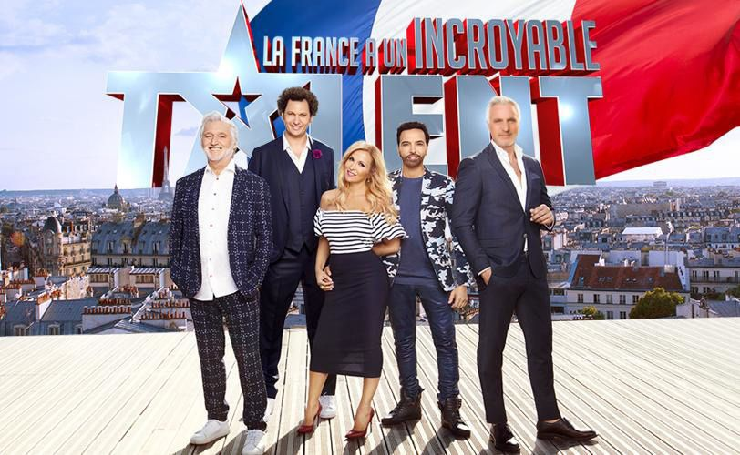 Le jury de La France a un incroyable talent (Crédit photo : Khortege / M6)
