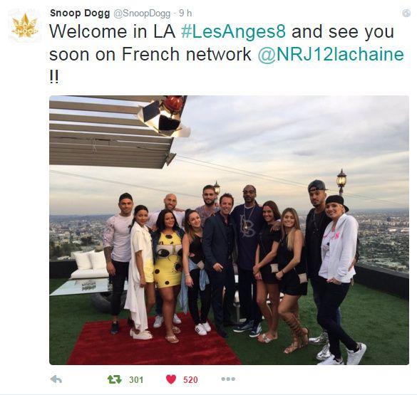 Snoop Dog a accueilli Les Anges pour le tournage de la saison 8 sur NRJ 12