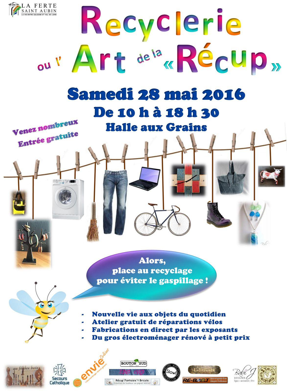 Dans le cadre de la Semaine du Développement Durable, la ville de La Ferté Saint-Aubin (Loiret) crée un évènement... L'occasion de découvrir que l'on peut participer chacun à sa façon....