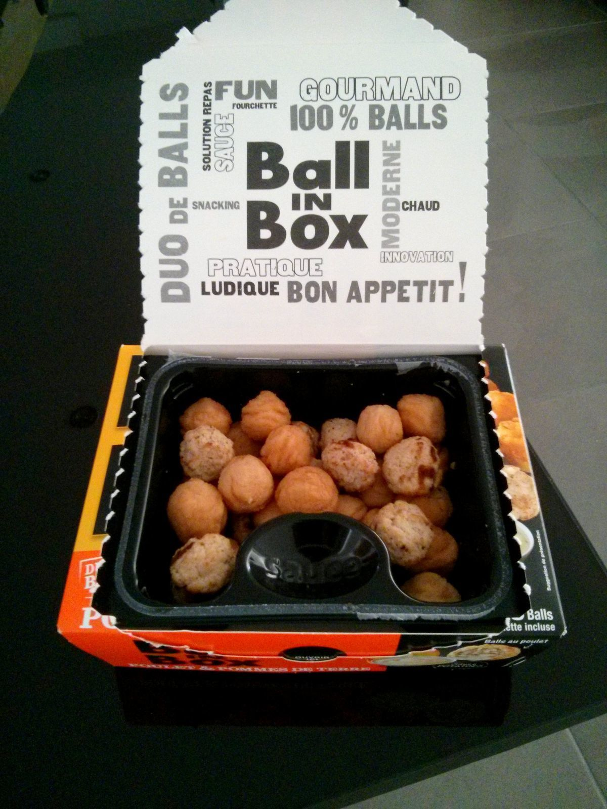 Ball in Box : junk food ou box pratique ?