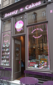 Le salon de thé Beauty Cakes