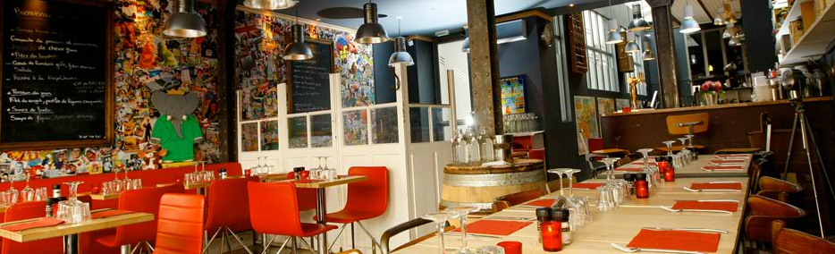 Le restaurant Club des 5
