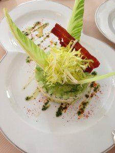La crabe salade