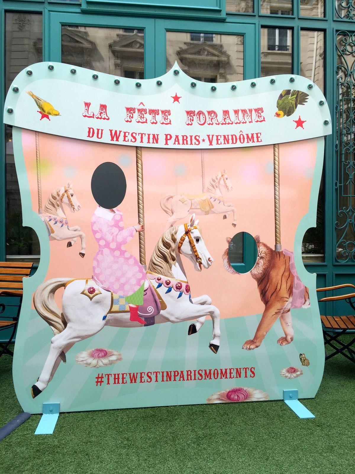 Goûter forain au Westin Paris-Vendôme