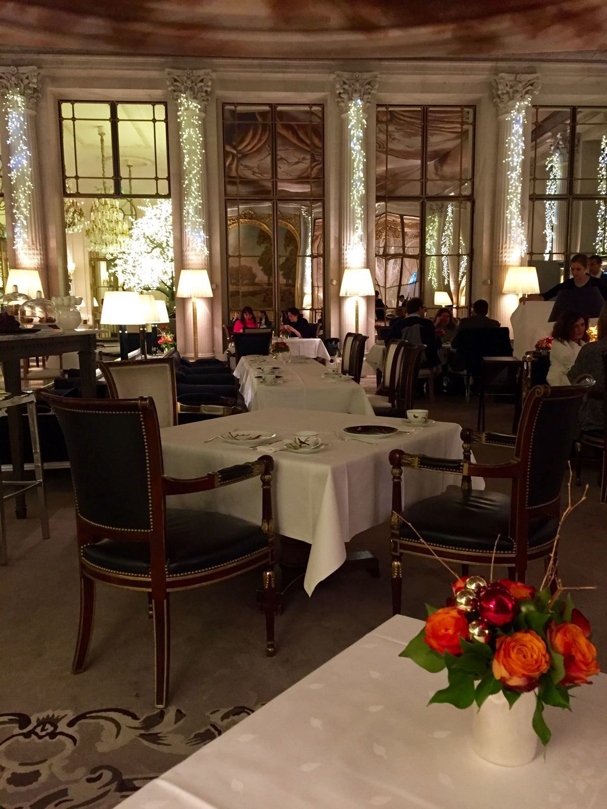 Tea Time au Meurice