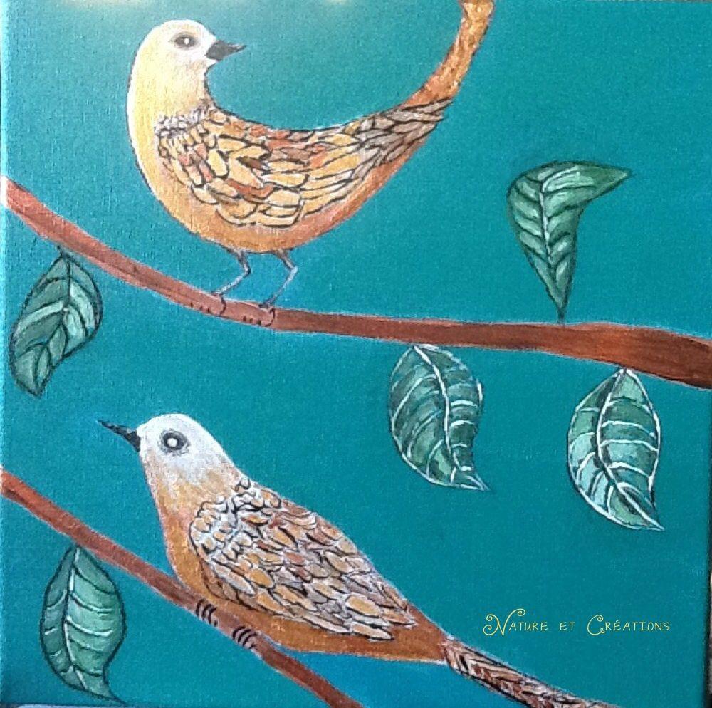 Les oiseaux dorés