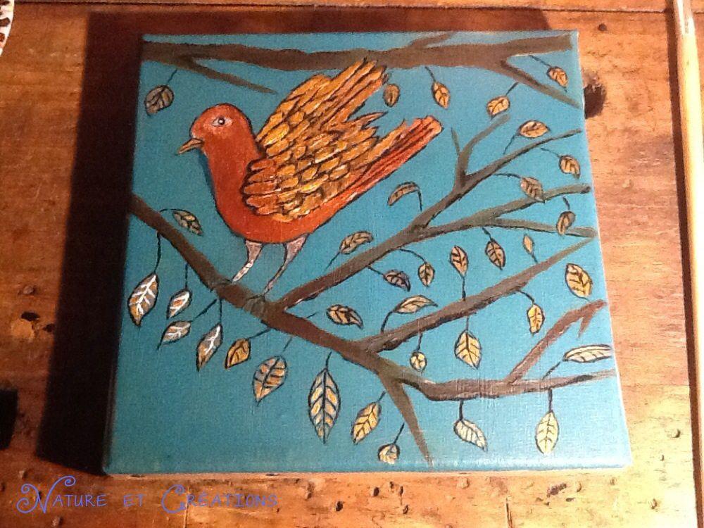 L'oiseau turquoise