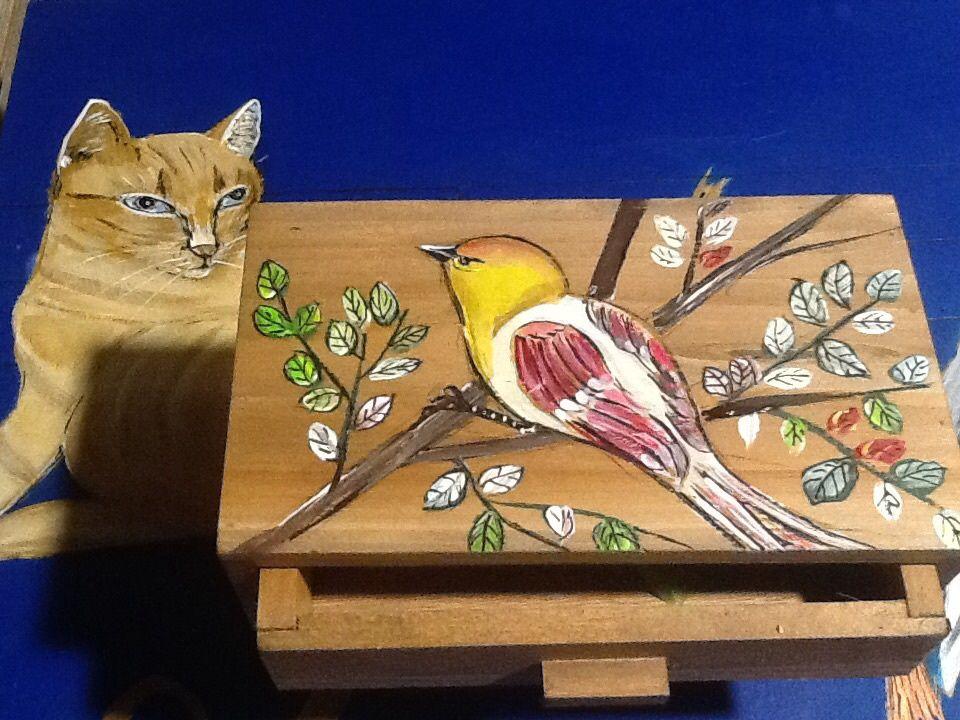 Tête de lit sympa cats et birds