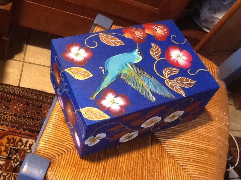 Boite de rangement le colibri